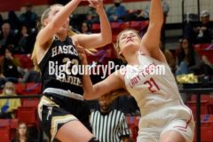 Haskell-Anson girls baskeball