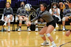 Lubbock High-Wylie volleyball